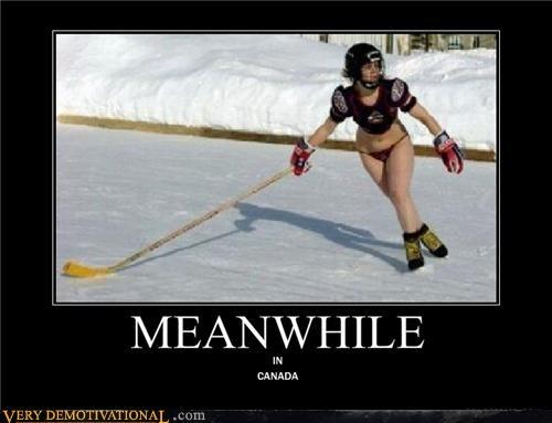 bikini Canada classic hockey - 4440652032