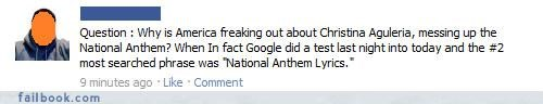 christina aguilera,national anthem,super bowl