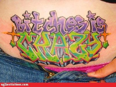 bad dogs tattoos funny Ugliest Tattoos - 4441201664