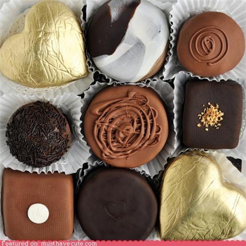 cakes chocolate epicute gold Truffles - 4441249536