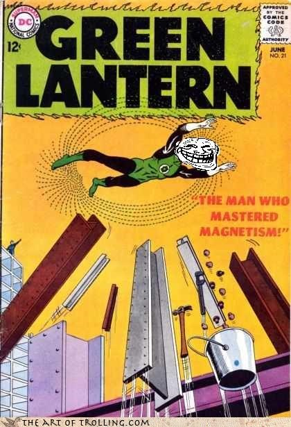 comics Green lantern is-he-mormon magnets superhero