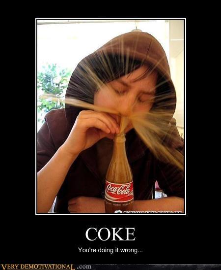 coke drugs inhale soda spray - 4441555712