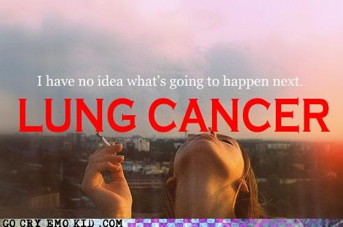 emolulz,lung cancer,obvious,scene,smoking,the future