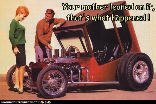 car funny Photo photograph - 4441985024