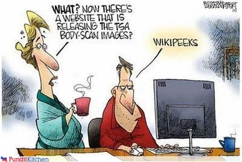 cartoons dirty internet pr0n TSA wikileaks - 4442031872
