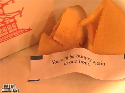 asian food clever fortune cookie hunger - 4442083072