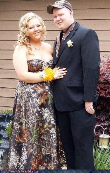camouflage dress hunt prom redneck suit - 4442185472