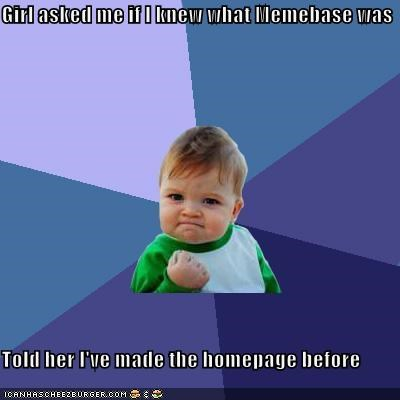 homepage,memebase,success kid