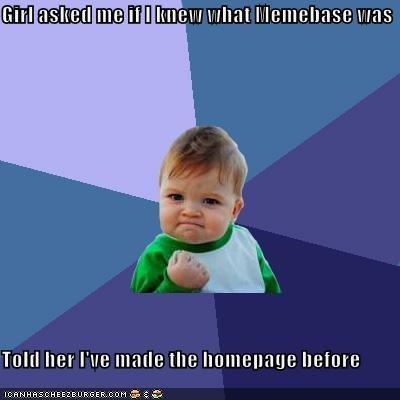 homepage memebase success kid - 4443273216