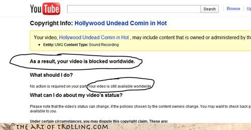 blocked inconsistency here Video worldwide youtube - 4444474368