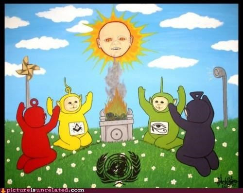 cult flack kids shows teletubbies wtf - 4444617728
