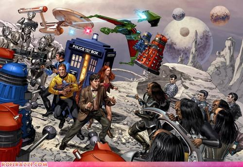 art cool doctor who epic funny Hall of Fame sci fi Star Trek - 4444649472