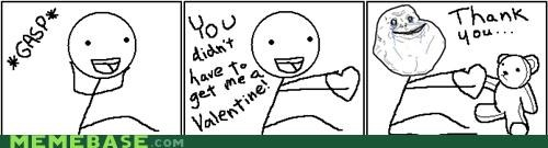forever alone Sad singles awareness day Valentines day - 4445333504
