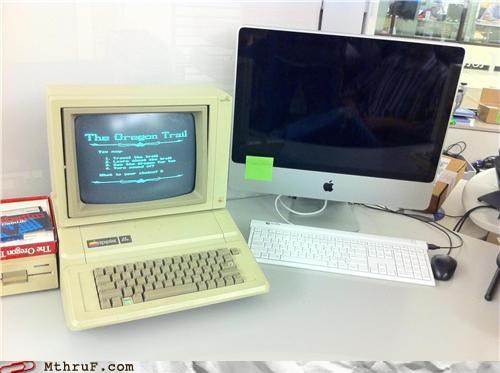 awesome,mac,old computer,oregon trail