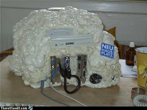 computer case computer parts foam wtf - 4445533184