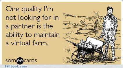 Farmville,lol,relationships