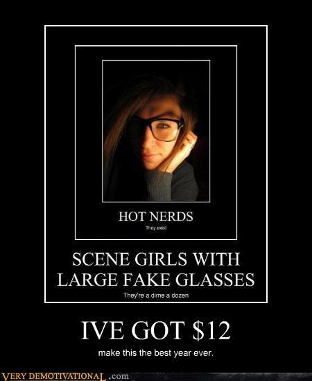 nerds dime a dozen scene girls money - 4445676288