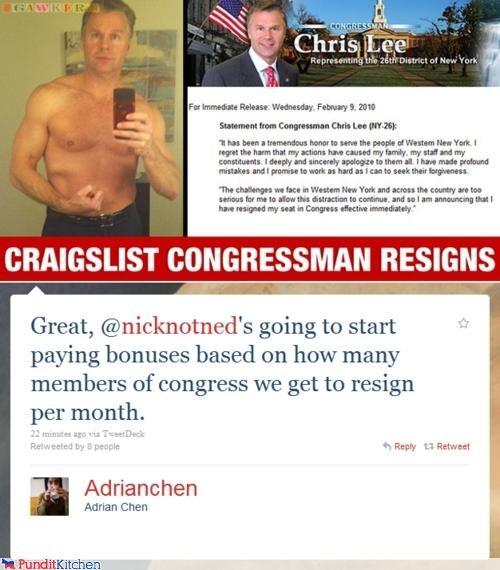 chris lee Congress resignation scandal tweet - 4445739264