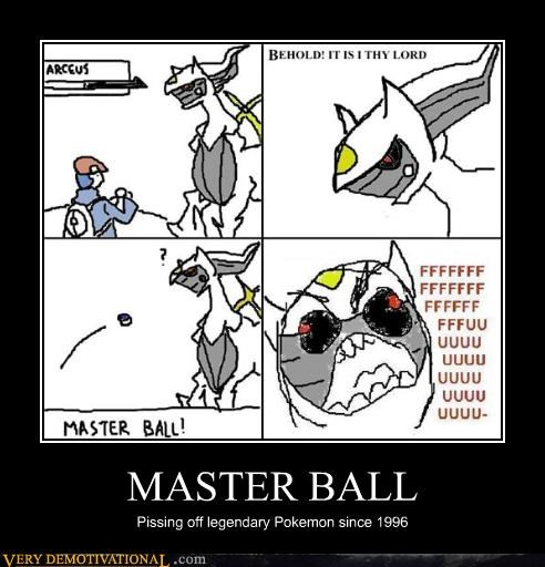 Pokémon,master ball,pissed