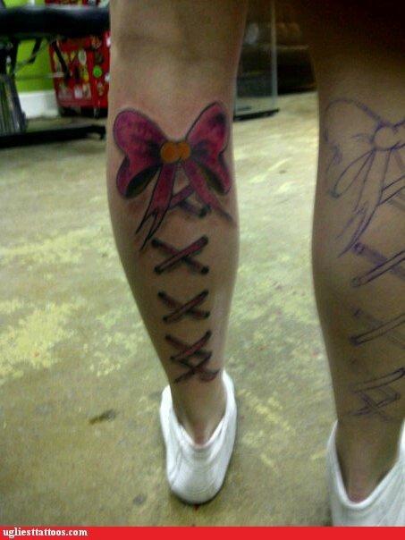 tattoos legs funny - 4446139136