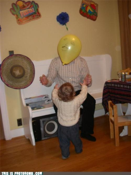 adoption Babies balloon man jk kids Perfect Timing photobomb - 4446227968