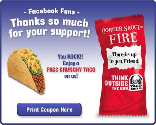 giveaway taco bell - 4446343936