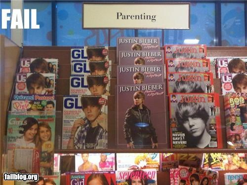 celeb failboat g rated justin bieber magazine parenting pre-pubescent tween - 4446367488