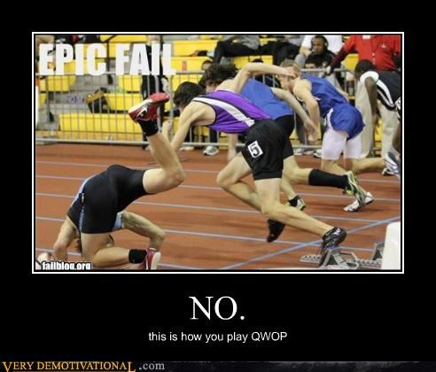 NO. this is how you play QWOP