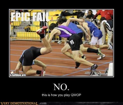 ouch FAIL QWOP running - 4446457856