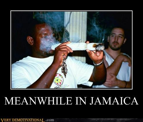 crazy big joint drugs jamaica weed