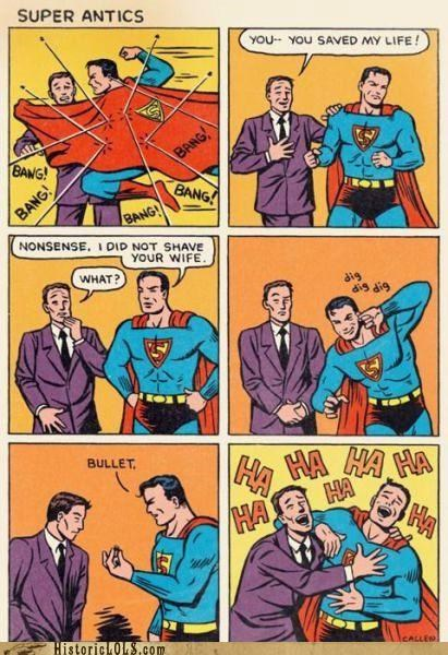 art comic funny illustration superman - 4447325696
