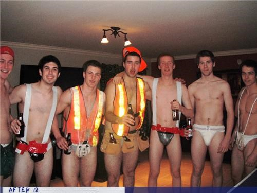 drunk duct tape half au natural reflecters underwear - 4447999232