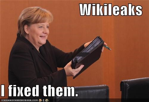 angela merkel fixed Germany wikileaks - 4448169984