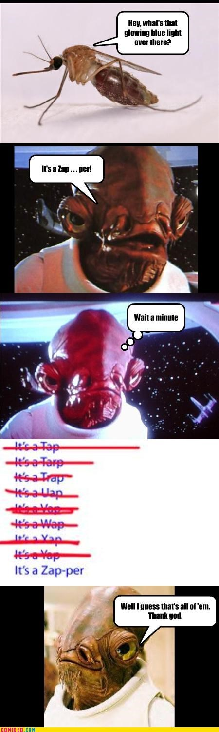 admiral ackbar,its a trap,mon calamari,puns,star wars