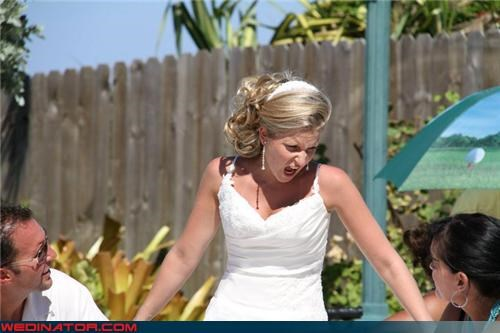 angry bride bad hairdo bride bridezilla crazy bride Crazy Brides fashion is my passion funny bride picture funny wedding photos miscellaneous-oops wtf