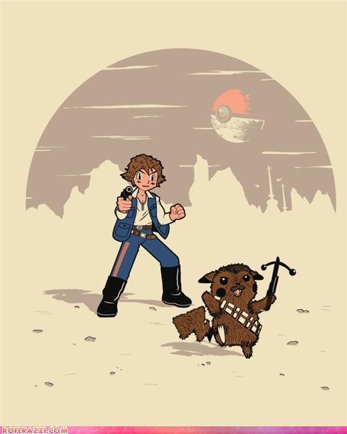art chewbacca funny Hall of Fame Pokémon sci fi star wars - 4448586496