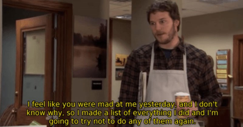 Collection of times that Andy Dwyer was hilarious in the Parks and Recreation television show.