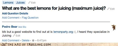 Challenge Accepted,juice,lemonparty,quora,specializing