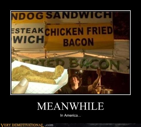 fried Meanwhile america bacon - 4449074944