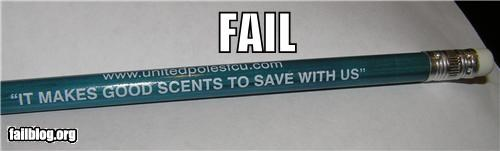 facepalm failboat g rated motto pencil scents spelling - 4449197824