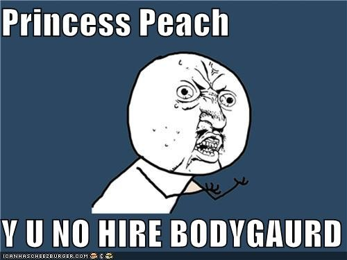 mario nintendo princess peach video games Y U No Guy - 4449804032