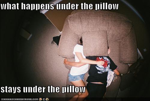 hipsterlulz kids makeout pillows vegas