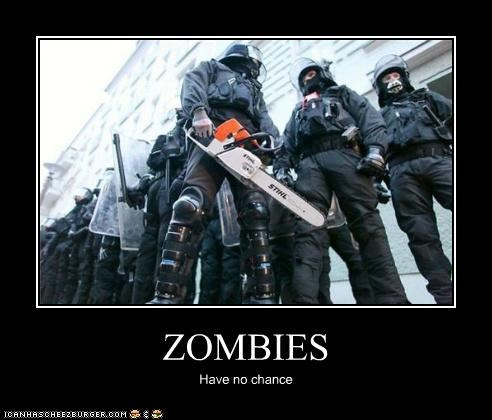 ZOMBIES Have no chance