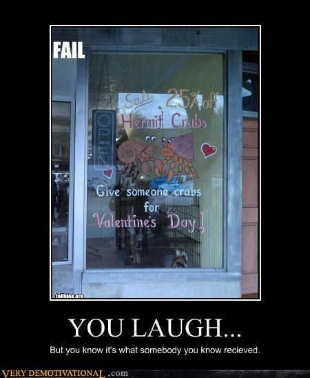 crabs hilarious sale valentines - 4450762496