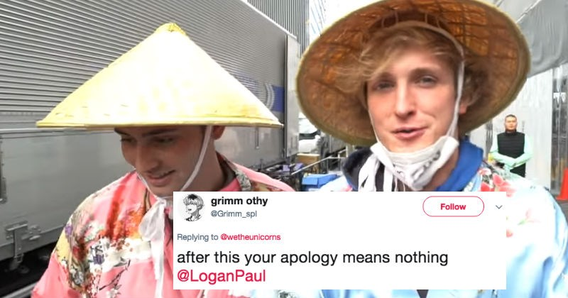 Logan Paul's ridiculously racist video from Japan has the internet pissed all over again.