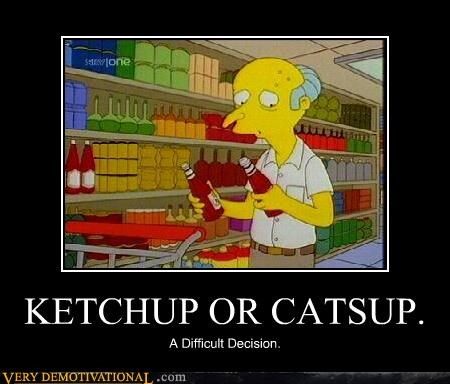 burns catsup ketchup simpsons - 4451447296