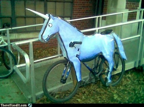 art bicycle internet meme unicorn wtf - 4451804672