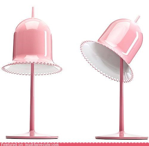 bell lace lamp lighting lolita pink - 4451897344