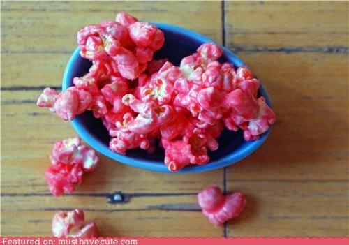 bright,epicute,pink,Popcorn,snack