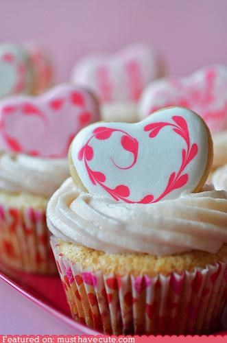 cookies cupcakes epicute frosting heart icing - 4451902208
